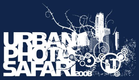Urban Photo Safari 2008 t-shirt